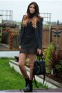 Black-zara-boots-gray-next-coat-black-zara-bag-black-zara-skirt