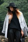 Black-asos-boots-silver-asos-coat-black-forever-21-hat-black-h-m-sweater