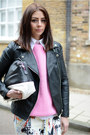 Black-forever-21-jacket-white-zara-shirt-black-zara-bag