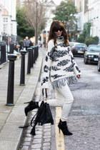 ivory Zara jumper