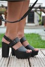Black-balenciaga-bag-black-chunky-new-look-heels