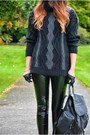 Black-zara-boots-black-topshop-bag-black-river-island-pants