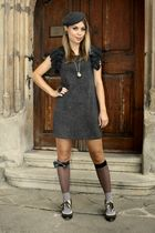 joy fashion dress - Deichmann shoes - vintage hat - Bepon socks - from grandfath