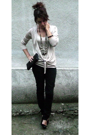 Zara top - pants - New Yorker shoes - Avon accessories - outlet accessories - me