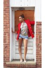 Vintage-thrifted-blazer-cutoff-diy-shorts-wwwetkovrcom-t-shirt