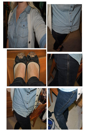 Forever 21 flats - Forever 21 pants - Mossimo blouse