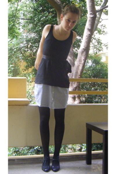 H&M top - Vero Moda accessories - H&M dress - Vero Moda necklace
