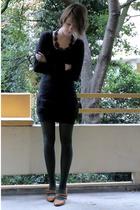 sessun dress - H&M tights - La Pucci shoes