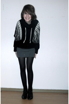 California Select sweater - American Apparel skirt - Oasis tights - Entlarvt sho