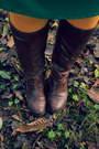 Dark-brown-jcpenney-boots