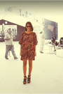 Mango-dress-vintage-sunglasses-mango-heels