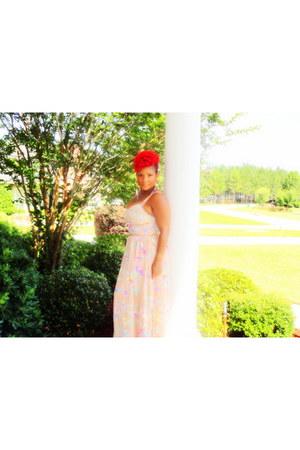 maxi dress vintage dress