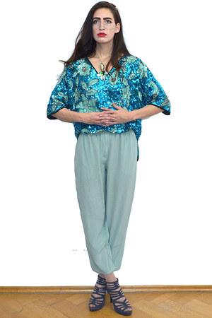aquamarine vintage shirt