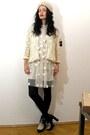 Asos-boots-stella-mccartney-dress-kimono-lace-vintage-jacket
