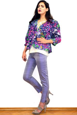 light purple vintage blazer