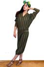 Army-green-missoni-dress
