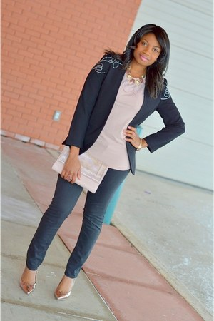 H&M blazer - H&M purse - H&M pants