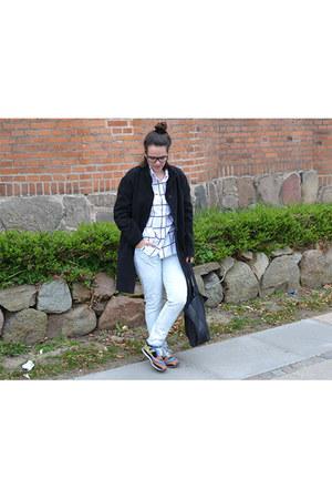 chicnova shirt - Zara jeans - Zara sneakers