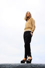Brown-zara-jumper-beige-newlook-top-black-zara-pants-black-givenchy-boots-