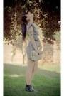 Navy-ebay-dress-ivory-flickr-purse-black-forever-21-boots