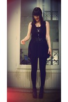 black sleep H&M dress - black Camden heels