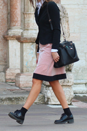 black Accessorize bag - black Dolce & Gabbana sunglasses - pink Hache skirt