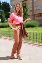 Stradivarius shirt - Zara bag - BLANCO pants - Zara sandals - BLANCO necklace