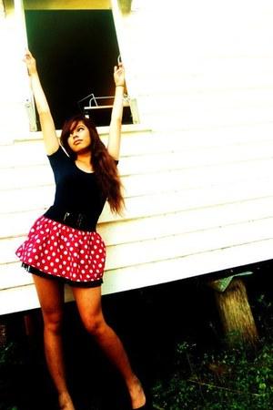 polkadot skirt veronicas skirt