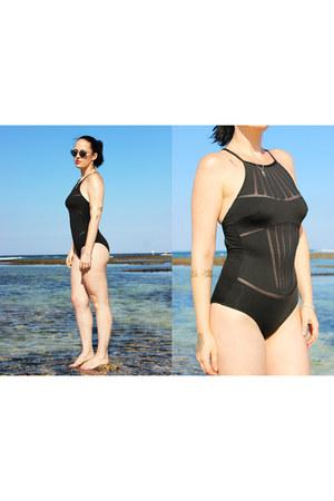 black La Perla swimwear - gold Goddess Tattoos accessories