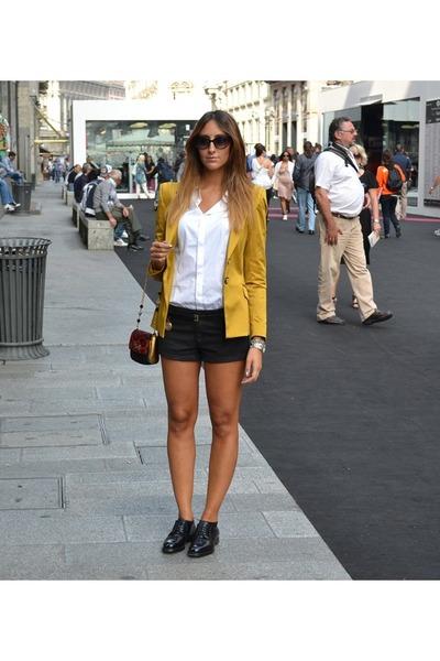 Rinascimento jacket - CHURCHS shoes - DSquared shirt - Dolce & Gabbana bag