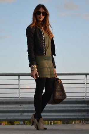 black Rinascimento jacket - dark khaki de Bijenkorf dress