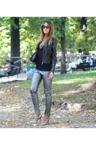 Rinascimento jacket - Zara shoes - Patrizia Pepe leggings