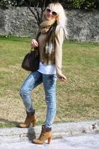 Ralph Lauren sweater - Manas Lea Foscati shoes - Zara jeans