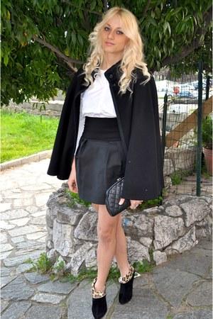 boots - shirt - bag - skirt