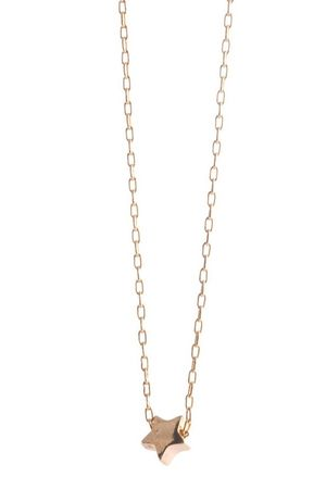 gold elizabeth lewis necklace