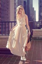 chiffon flowy American Apparel skirt