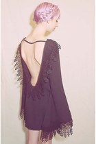 black For Love and Lemons dress