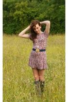 Topshop dress - Sophies belt