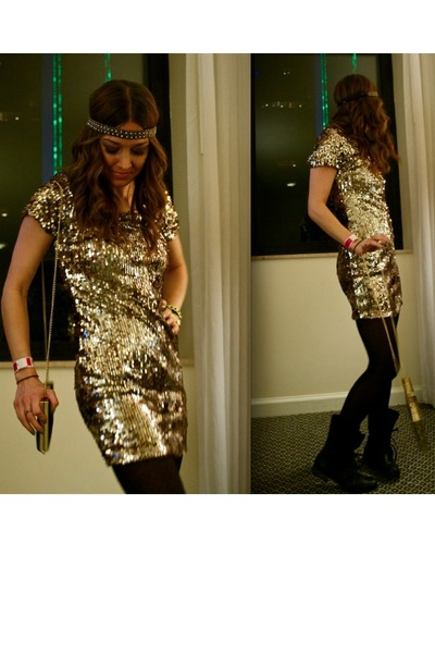 Gold New Years Eve Dress