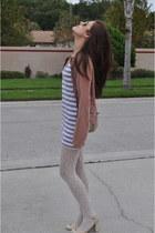 Forever21 dress - Forever21 stockings - BCBG shoes