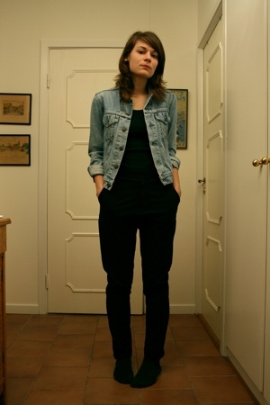 levis second hand jacket - Monki jeans