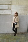 Black-lace-up-oxfords-sacha-shoes-beige-trench-pull-bear-coat