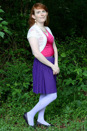 purple True Freedom skirt - periwinkle We Love Colors tights