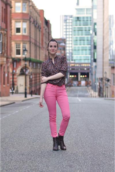 Bocage boots - indressme shirt - H&M pants