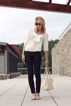 Forever 21 jeans - Forever 21 shirt - Target sandals