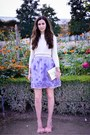 Periwinkle-asos-dress-off-white-vintage-sweater-eggshell-kate-spade-bag