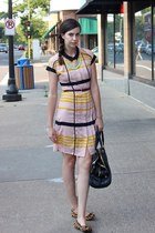 light pink Jason Wu for Target dress - black JCrew bag