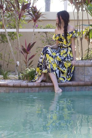 yellow Rachel Zoe dress