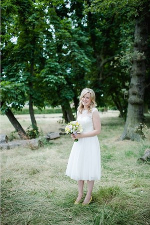 ivory wedding dress Coast dress