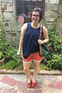 Army-green-dooney-bourke-bag-red-walmart-shorts